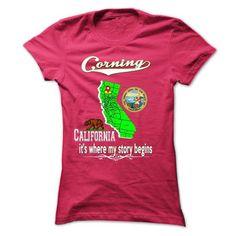 Corning, its where my story begins - #gift for her #gift for kids. TAKE IT => https://www.sunfrog.com/LifeStyle/Corning-its-where-my-story-begins.html?68278