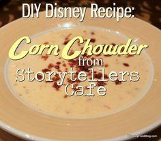 #Disney #Recipe: Nebraska Corn Chowder!