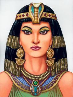 Nacida en  octubre 69 a.C.en Alejandría, Egipto,  muerta 39 años despues. Mujer que supo imponerse en un mundo de hombres.