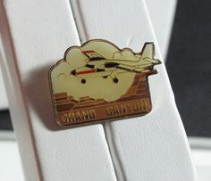 Lapel Pin Colors Plane over the Grand Canyon by antiquesnoddities, $5.00