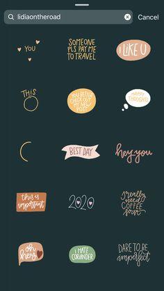 Instagram Emoji, Cute Instagram Captions, Instagram Snap, Creative Instagram Stories, Instagram And Snapchat, Instagram Blog, Instagram Story Ideas, Instagram Quotes, Snapchat Stickers