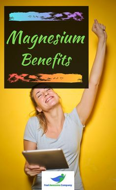 Magnesium health benefits and more! Magnesium is an essential mineral for good health and wellness. In this article you'll learn about the health benefits of magnesium, as well as some magnesium rich foods and magnesium deficiency symptoms. Discover the benefits of magnesium here! #magnesium #magnesiumbenefits #health #wellness #magnesiumdeficiency Magnesium Foods, Magnesium Deficiency Symptoms, Magnesium Benefits, Health Benefits, Brain Nutrition, Stress And Depression, Anxiety Remedies, Weight Loss Supplements, How To Increase Energy
