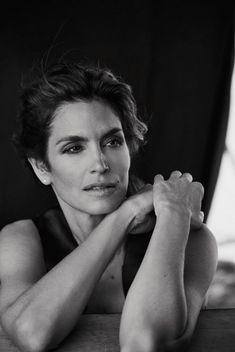 Cindy Crawford by Peter Lindbergh
