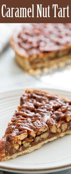 HOLIDAY BOARD: Caramel Nut Tart Recipe