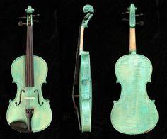 Romany Blue Violin