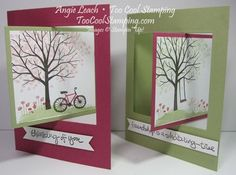 Sheltering Tree Pop Out Swing Fold Card