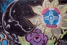 Indian Symbols, Kansas, Flag, Painting, Art, Art Background, Painting Art, Kunst, Paintings