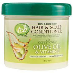 TCB TCB Natrl Hair and Scalp Cond - 10oz ** This is an Amazon Affiliate link. Read more at the image link.