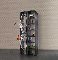 Cool bike storage idea