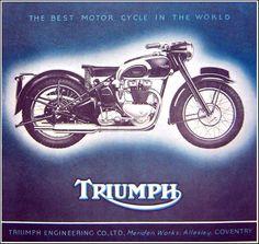 Triumph – Back to BRMC   Graphicine