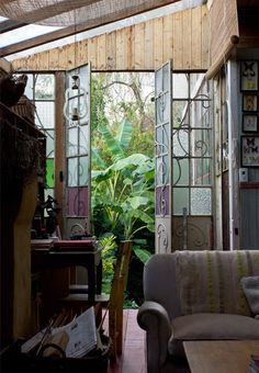 Interiores Romance - Bohemian Home Living Room