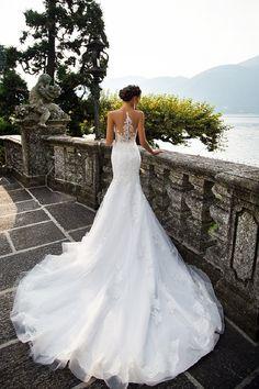 Milla Nova Bridal 2017 Wedding Dresses / www.deerpearlflow… Milla Nova Bridal 2017 Wedding Dresses / www. Stunning Wedding Dresses, Bridal Wedding Dresses, Dream Wedding Dresses, Convertible Wedding Dresses, Modest Wedding, Lace Wedding, Wedding Venues, Wedding Ideas, 2017 Bridal