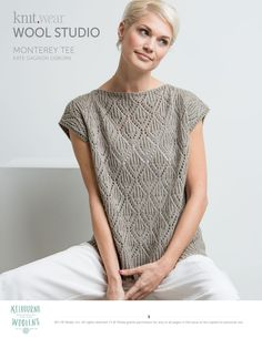 Online Knitting and Crochet Pattern Software. Knitinspire is a pattern drafting software that allows you to create patterns for both crochet and knitting. Summer Knitting, Lace Knitting, Knitting Patterns Free, Knit Patterns, Sewing Patterns, Summer Sweaters, Knitwear, How To Wear, Rhythmic Pattern