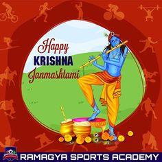 Janmashtami wishes to all! This janmashtami learn music at Ramagya Sports Academy (in collaboration with Indian Idol Academy). #Ramagya #music #learn #IndianIdolAcademy #football #instrumentalmusic #vocal #hindustani #festival #celebration