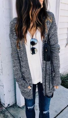 21 outfit you should try - style spacez stylish winter outfits, casual fall fashion, Autumn Fashion Casual, Fall Fashion Trends, Casual Fall, Winter Fashion, Fashion Ideas, Spring Fashion, Fashion Tips, Casual Summer, Fashion Styles