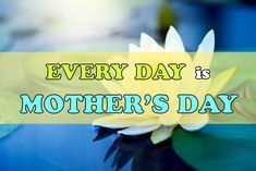 Every day is mothers day. For Sahaja meditators, this is an absolute truth to know. Mother's day isn't just one day in a year. When we go through problems in life, all we need to do is to rise above them by remembering why we're on this earth. Biological Mother, Biological Parents, Days Of The Year, Days Of Our Lives, Self Realization, Central Nervous System, We Energies, Feminine Energy, Rise Above