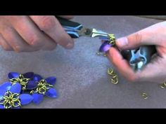 How to make scale maille flowers