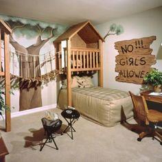 Ideas para el cuarto de un niño #decoracion #infantil
