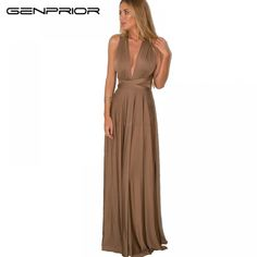 Women Multiway Wrap Long Dress Party Bridesmaids Convertible Boho Maxi Club Red Dress Bandage Infinity Robe Longue Femme Yw A Casual Party Dresses, Bodycon Dress Parties, Club Dresses, Dress Party, Cheap Dresses, Sexy Dresses, Maxi Bridesmaid Dresses, Bridesmaids, 21st Birthday Outfits