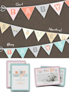 Free Printable Baby Shower Banner - Smilebox
