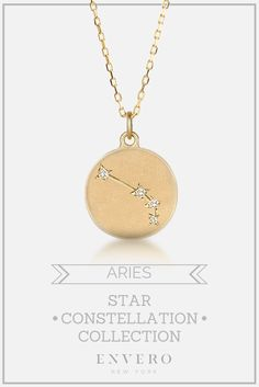Aries Constellation Necklace – Envero Jewelry (it's only like $500, nbd)
