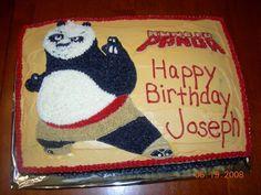 Kung Fu Panda Cake  on Cake Central