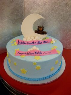 Twinkle Twinkle Little Star ! Baby Shower Cakes by Conti's