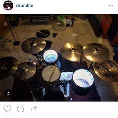 The good dudes at @drumlite always showing the love. If you're a drummer and want to spice your kit up a bit hit these dudes up. #tamerlane #myenemymyfriend #zildjian #drumlite #drums #drumporn #remo #dw #vicfirth #acustom #chinacity #ledlights #tinoarteaga #jakegarland #jerodboyd #jaredeasterling #ericchoi #lonielrobinson #mapexdrums by thisistamerlane