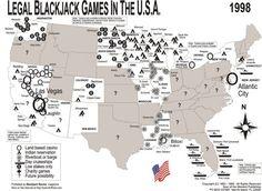 Blackjack in the USA 1998