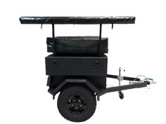 Awning support on our ATS trailer Adventure Trailers, Golf Carts, 4x4, Tent, Europe, Design, Store, Tents