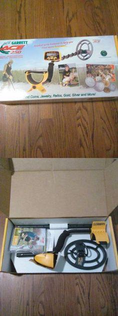 Metal Detectors: Garrett Ace 250 Metal Detector Waterproof Coil Damaged Box -> BUY IT NOW ONLY: $199 on eBay!
