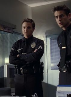 Jeremy Rener in SWAT. Love his transformation from good cop to bad boy!