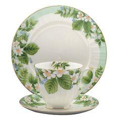 Dogwood Bone China Tea Cup & Saucer Set