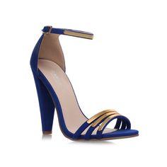 cara, blue shoe by carvela kurt geiger - women shoes party shoes & occasion
