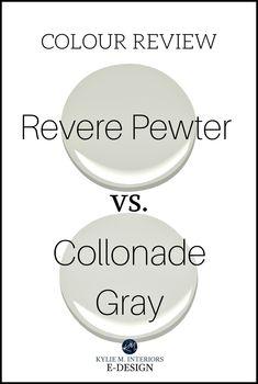 Colour Review: Collonade Gray vs Revere Pewter
