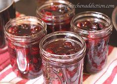 Amaretto-soaked cherries