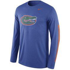 be49e12ea84e Nike Florida Gators Royal Legend DNA Wordmark Long Sleeve Performance T- Shirt