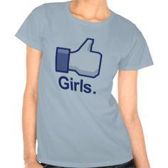 Como chicas camisetas