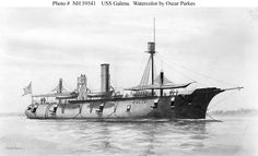 USS Galena Ironclad.