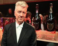 Well he was an artist before he was a filmmaker. David Lynch Designs Labels for Dom Pérignon #davidlynch #champagne