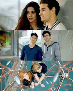 Clace sizzy and malec So excited for new episode! Shadowhunters Malec, Shadowhunters The Mortal Instruments, Clace, Isabelle Lightwood, Jace Wayland, Alec Lightwood, Clary Und Jace, Clary And Simon, Alec And Jace