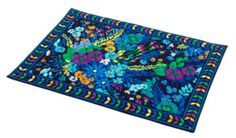 VERA BRADLEY Midnight Blues Placements (Set of 4) $34.99 SHIPPED FREE~~~NOW OFFERING FREE LOCAL DELIVERY WITHIN 10 MILES OF ZIP CODE 90404 SANTA MONICA, CALIFORNIA~~~
