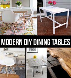 Modern Dining Table DIYs   @lexi Lee @ Persia Lou
