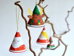 DIY Momoki Paper Christmas Decoration