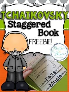 FREE Tchaikovsky Staggered Book!