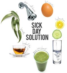 Sick day solution {via PURE MAMAS}