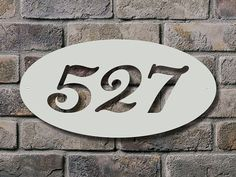 Hey, I found this really awesome Etsy listing at http://www.etsy.com/listing/127731522/ellipse-14-inch-address-sign-metal