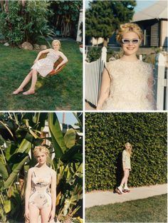 Elle Fanning photographed by Venetia Scott for Self Service, Spring/Summer 2012    (: I love her!