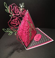 Hello and sorry for the absence! But here's a little card to get your creative juices flowing:     I've used the Stampin' Up! Rose Wonder ...