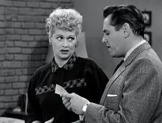 'I Love Lucy' co-stars Lucille Ball and Desi Arnaz continued working together after their divorce, along with Ball's new husband. Natural Brown Hair, Natural Redhead, I Love Lucy, My Love, Lucy Star, Lucy And Ricky, Desi Arnaz, Movie Facts, Movie Trivia